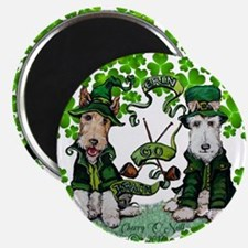 Fox Terrier St. Patrick's Day Magnets