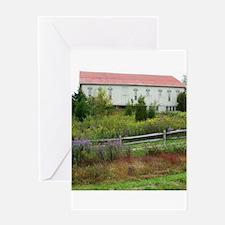 olf farm house Greeting Cards