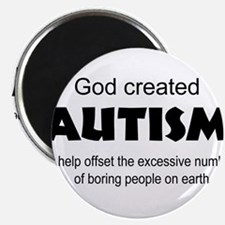 Autism offsets boredo Magnets