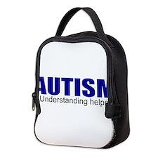 Autism needs understanding Neoprene Lunch Bag