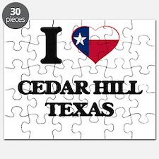 I love Cedar Hill Texas Puzzle
