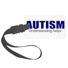 Autism needs understanding Luggage Tag