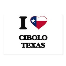 I love Cibolo Texas Postcards (Package of 8)