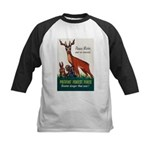 Prevent Forest Fires Kids Baseball Jersey