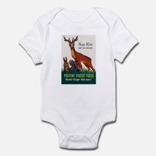 Prevent Forest Fires Infant Bodysuit
