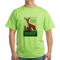 Prevent Forest Fires (Front) T-Shirt