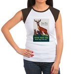 Prevent Forest Fires Women's Cap Sleeve T-Shirt