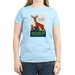 Prevent Forest Fires (Front) Women's Light T-Shirt
