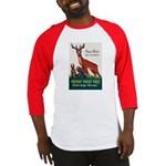 Prevent Forest Fires Baseball Jersey