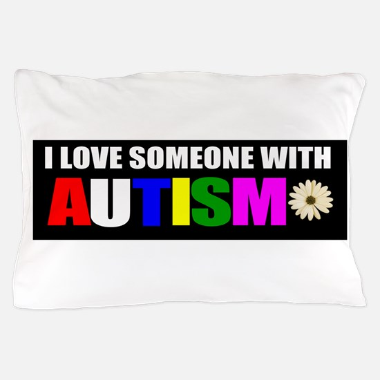 Autism and love Pillow Case