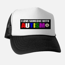 Autism and love Trucker Hat
