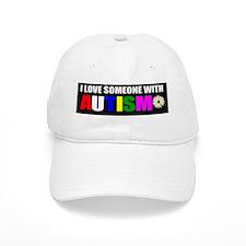Autism and love Baseball Cap