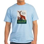 Prevent Forest Fires Light T-Shirt