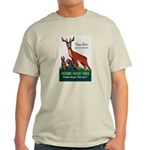 Prevent Forest Fires (Front) Light T-Shirt