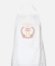 Personalized Name and Year Anniversary Apron