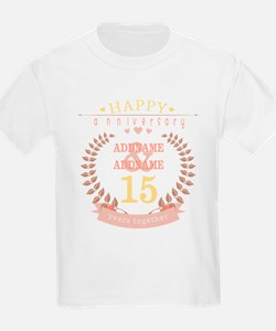 Personalized Name and Year Anni T-Shirt