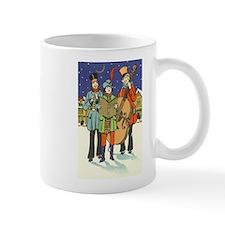 Vintage Christmas Carolers Mugs