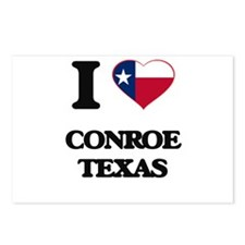 I love Conroe Texas Postcards (Package of 8)