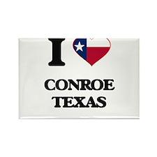 I love Conroe Texas Magnets