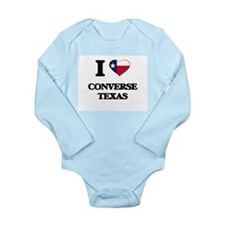 I love Converse Texas Body Suit