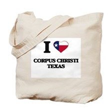 I love Corpus Christi Texas Tote Bag