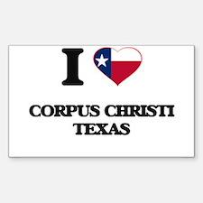 I love Corpus Christi Texas Decal