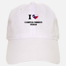 I love Corpus Christi Texas Baseball Baseball Cap