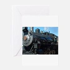 classic train Greeting Cards
