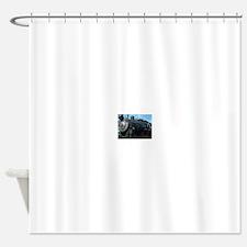 classic train Shower Curtain