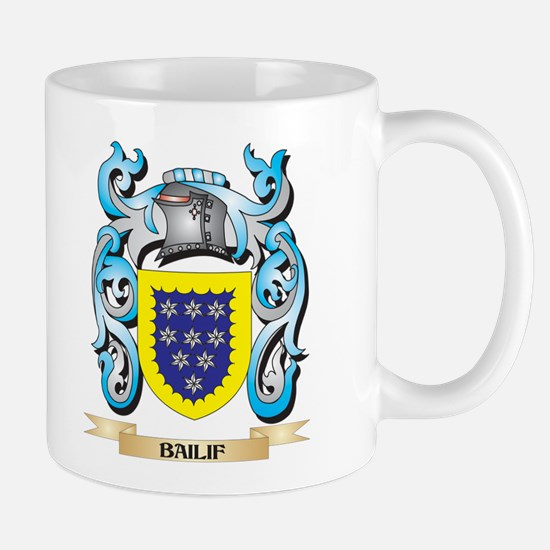 Bailif Coat of Arms - Family Crest Mugs