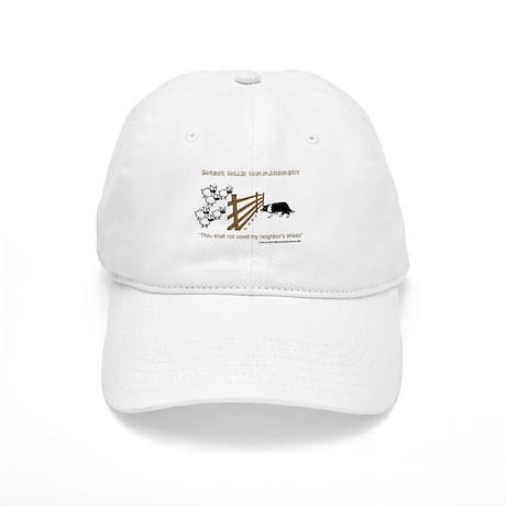 Border Collie Commandment Cap
