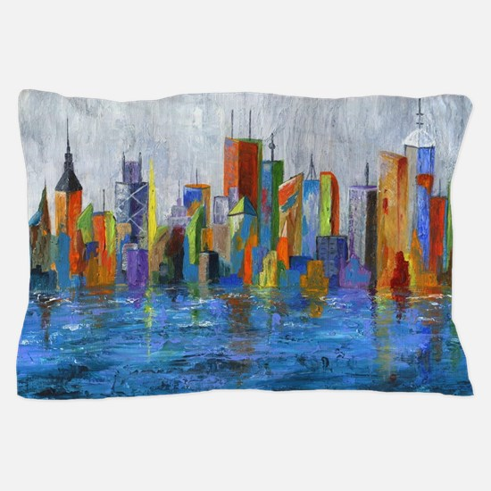Cute Syracuse architecture Pillow Case