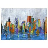 Architecture Wrapped Canvas Art