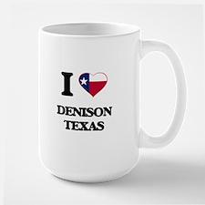 I love Denison Texas Mugs