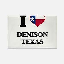 I love Denison Texas Magnets