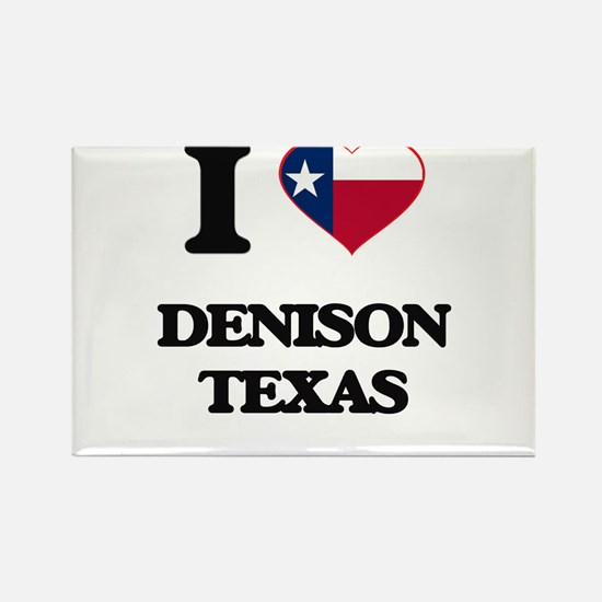 I love Denison Texas Magnets