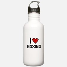 I Love Boxing Digital Water Bottle