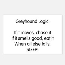 Greyhound Logic Postcards (Package of 8)