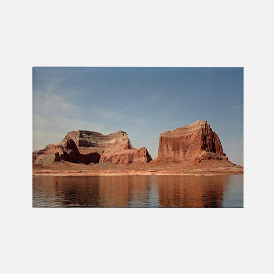 Lake Powell, Glen Canyon, Arizona Rectangle Magnet