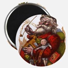 Vintage Christmas Santa Claus Magnets