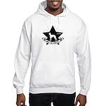 Whippet Propaganda -icon Hooded Sweatshirt