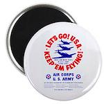 Go USA Go Army Magnet