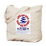 Go USA Go Army Tote Bag