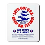 Go USA Go Army Mousepad
