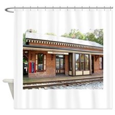 old PA train station Shower Curtain