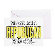 Republicans... Greeting Card