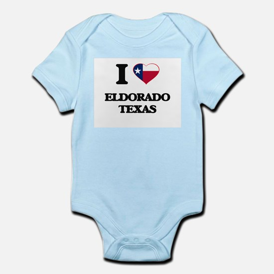 I love Eldorado Texas Body Suit