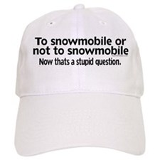 To Snowmobile or Not... Hat