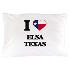 I love Elsa Texas Pillow Case