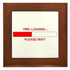 PMS LOADING... Framed Tile